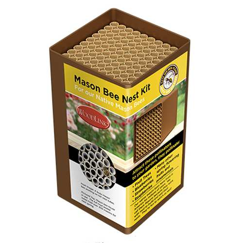 Replacement Mason Bee Fiberboard Nesting Tubes 3/P
