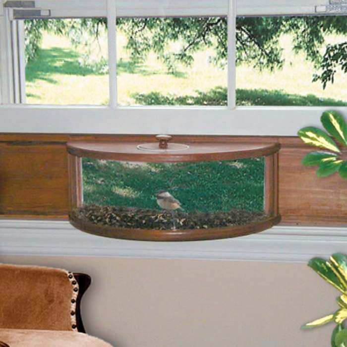 Conservation Panoramic In-House Window Feeder