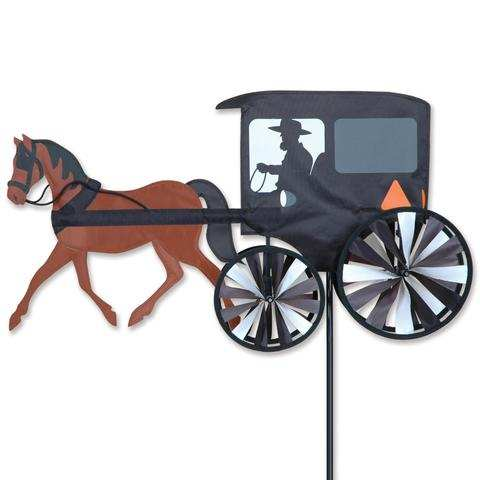 Horse and Buggy Spinner Large