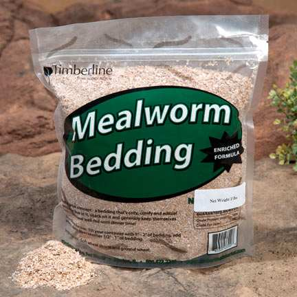 Mealworm Bedding 4 lb Bag