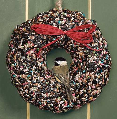 Holiday Birdie Wreath