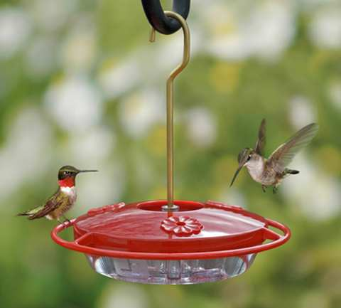 HummZinger Mini Hummingbird Feeder 2/PAK