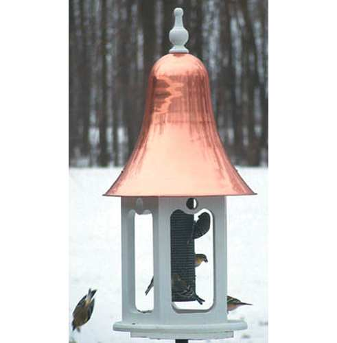 Second Nature Gazebell Feeder Buffed Copper Roof