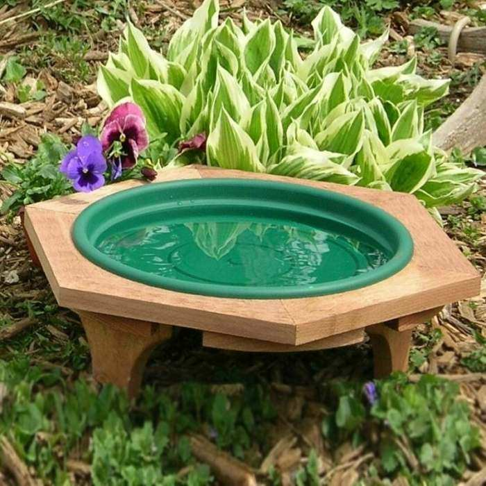 Songbird Low Profile Garden Bird Baths