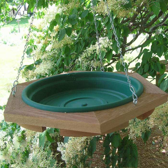 Songbird Hanging Garden Bird Baths