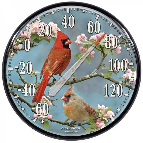 Accurite James Hautman Cardinals Thermometer