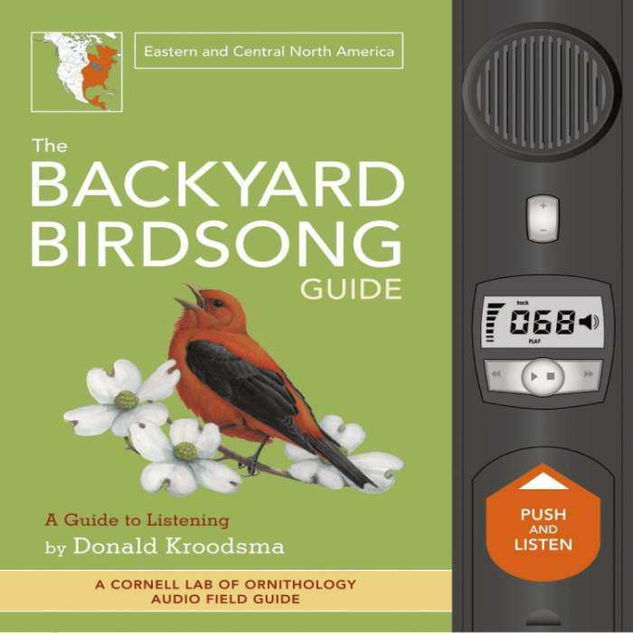 Backyard Birdsong Guide Eastern/Central N.A.