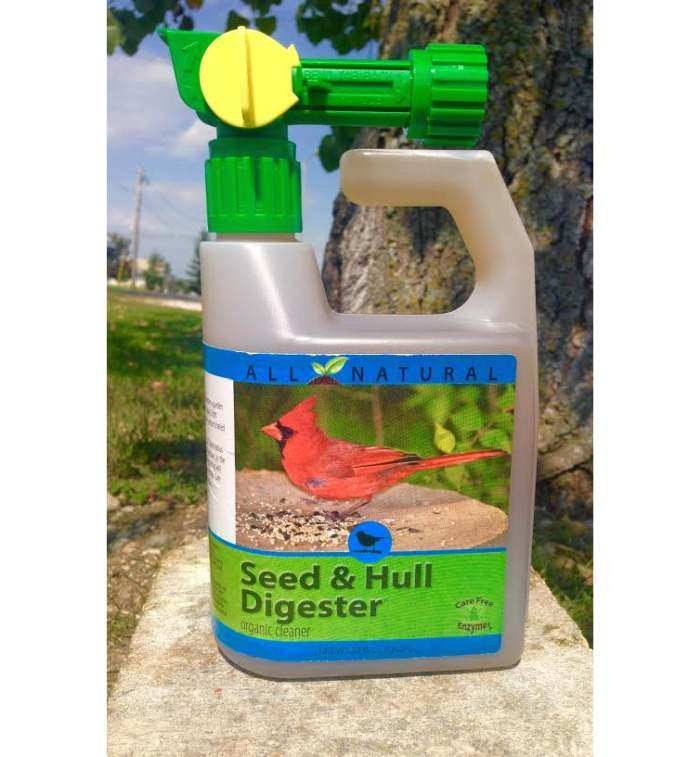 CareFree Seed & Hull Digester 32oz w/Spray Nozzle