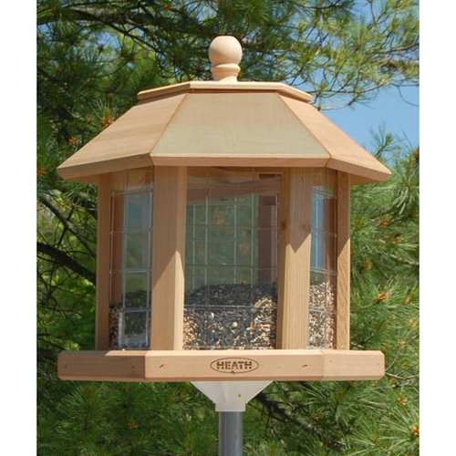 Heath LeGrande Gazebo Deluxe Bird Feeder Station