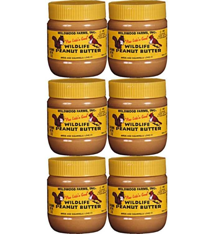 Wildlife Peanut Butter 12 oz 6/Pack