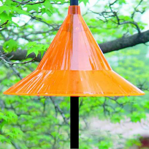Pole Mount Oriole Weather Hat
