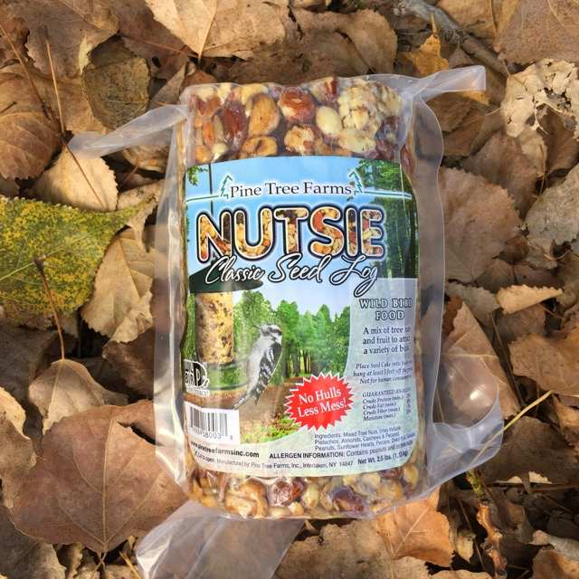 Nutsie Classic Seed Log 40 oz Twin Pack