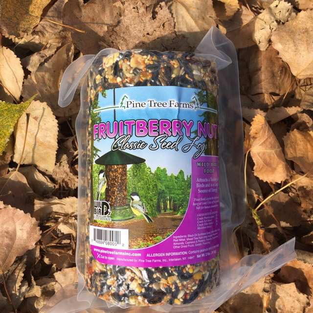Nutsie Fruitberry Nut Seed Log 32 oz 3/Pack