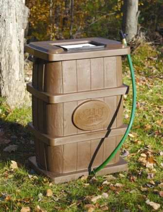 Rain Catcher Water Barrel 50 Gallon Capacity