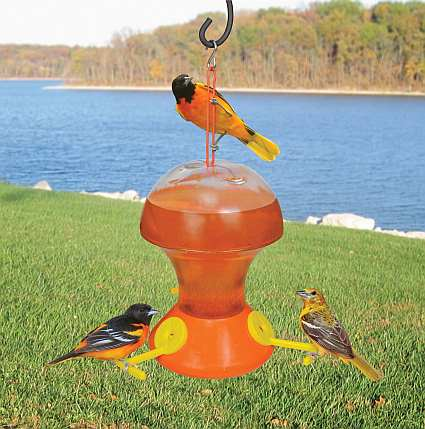 Fliteline Oriole Feeder 52 oz Twin Pack