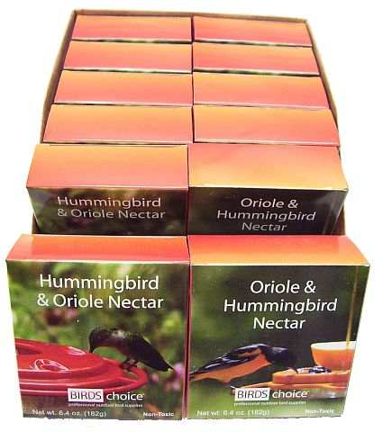 Birds Choice Hummingbird/Oriole Nectar 12/Pack