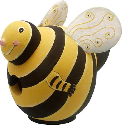 For The Birds Gord-O Bumble Bee Bird House