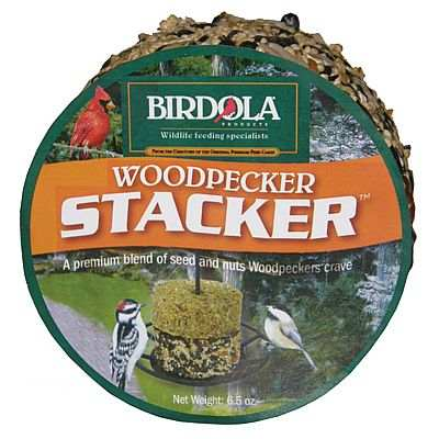 Birdola Woodpecker Stacker 6/Pack