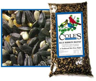 Cole's Blue Ribbon Bird Seed Blend 5#
