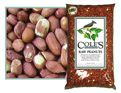 Cole's Raw Peanuts 5#