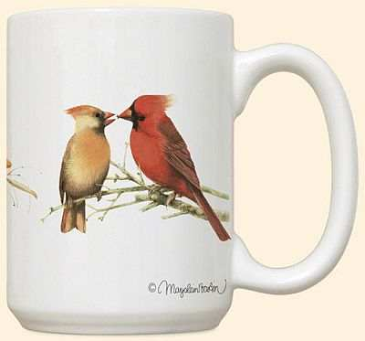 Cardinal 15 oz Coffee Mug 2/Set