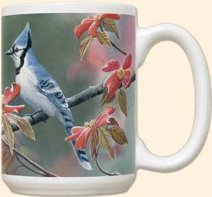 Blue Jay 15 oz Coffee Mug 2/Set