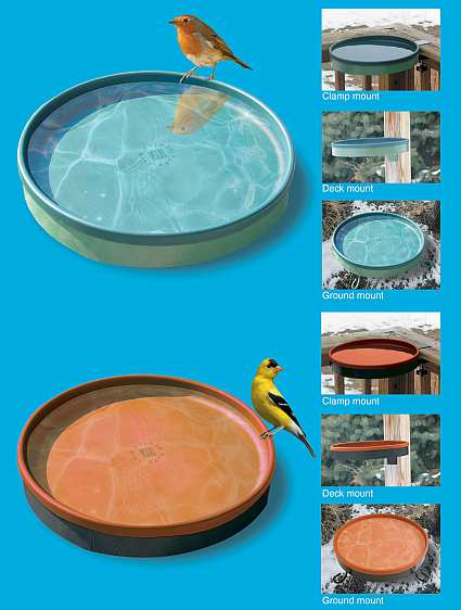 3-IN-1 Heated Bird Bath
