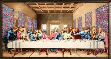 Glassmasters Stained Glass The Last Supper