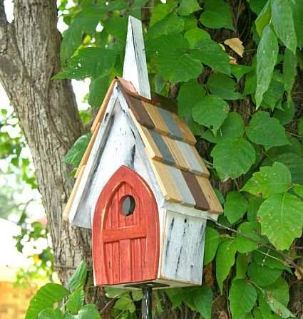 Flock of Ages Bird House