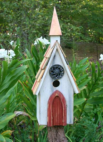 Perfect Heartwood Lord Of The Wing Bird House Redwood, Quality Handcrafted Rustic  Birdhouses At Songbird Garden