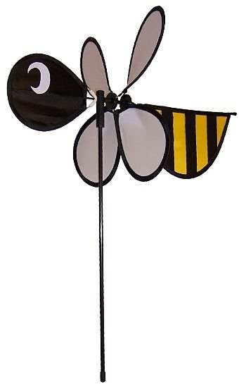 Baby Bee Mini Wind Spinner Set of 3