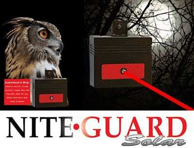 Nite Guard Solar-Powered Night Predator Protector