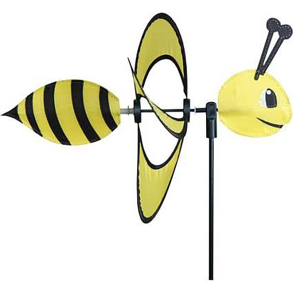 Petite Bee Wind Garden Spinner Set of 3