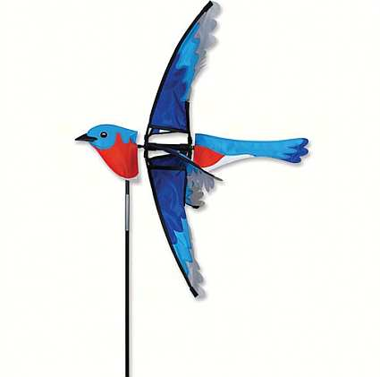 Flying Bluebird Wind Spinner 23