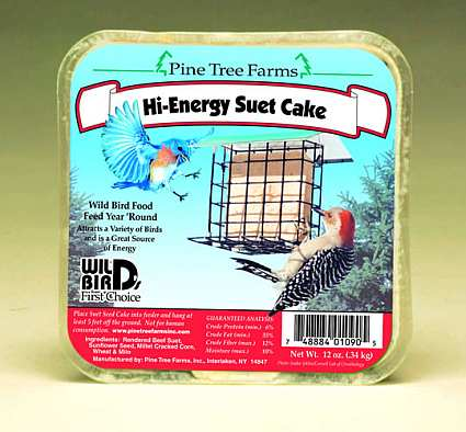 Hi-Energy Suet Cake 12 Pack