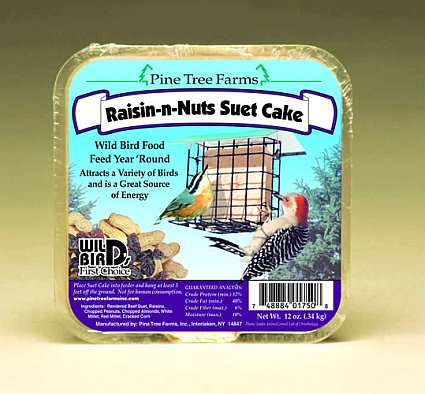 Raisin-N-Nuts Suet Cake 6 Pack