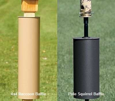 Cylinder Squirrel and Raccoon Baffles