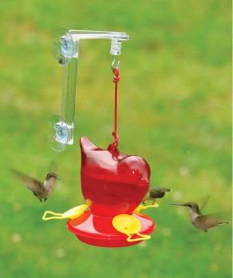 Red Bird Hummingbird Feeder w/Hanger Twin Pack