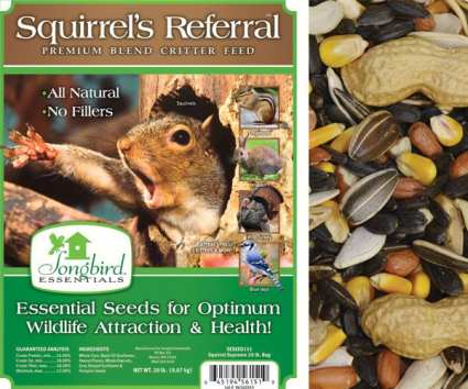 Songbird Squirrel's Referral Critter Food 5#