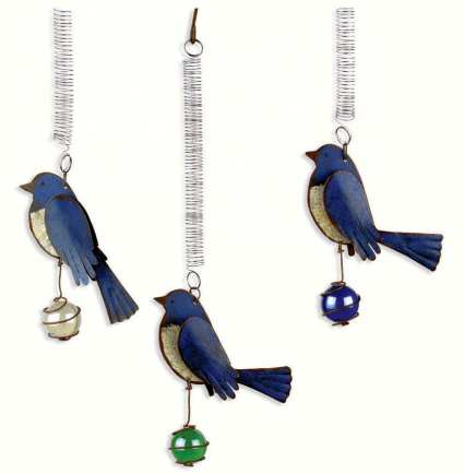 Bouncy Birds of a Feather Birdies Bluebird 3/Pack