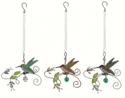 Bouncy Birds of a Feather Hummingbird Set of 3