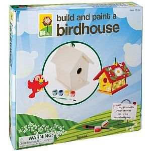 Deluxe Build-A-Bird House and Paint Kit For Kids