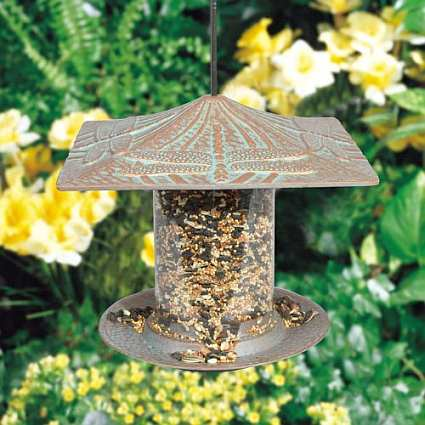 Classic Dragonfly Seed Tube Feeder Small