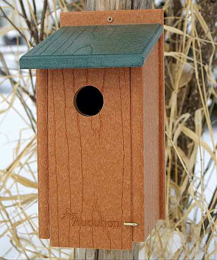 Going Green Recycled Plastic Bluebird House