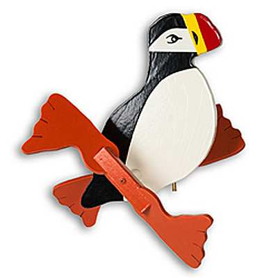 Classic Puffin Whirligig