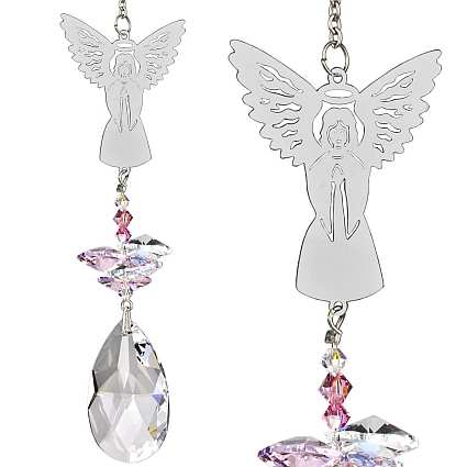 Crystal Fantasy Suncatcher Angel