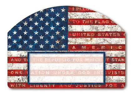 Pledge of Allegiance Yard DeSign