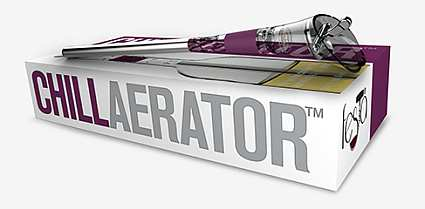 Chillaerator Wine Chiller & Aerator Grape