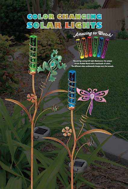 Solar Light Mushroom Stake Solar Powered Garden Stakes