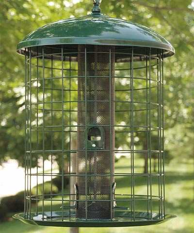 Audubon Caged Squirrel Resistant Mesh Bird Feeder Quality